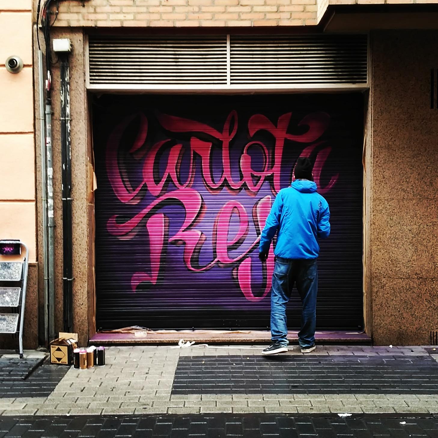 graffiti palencia valladolid mural arte