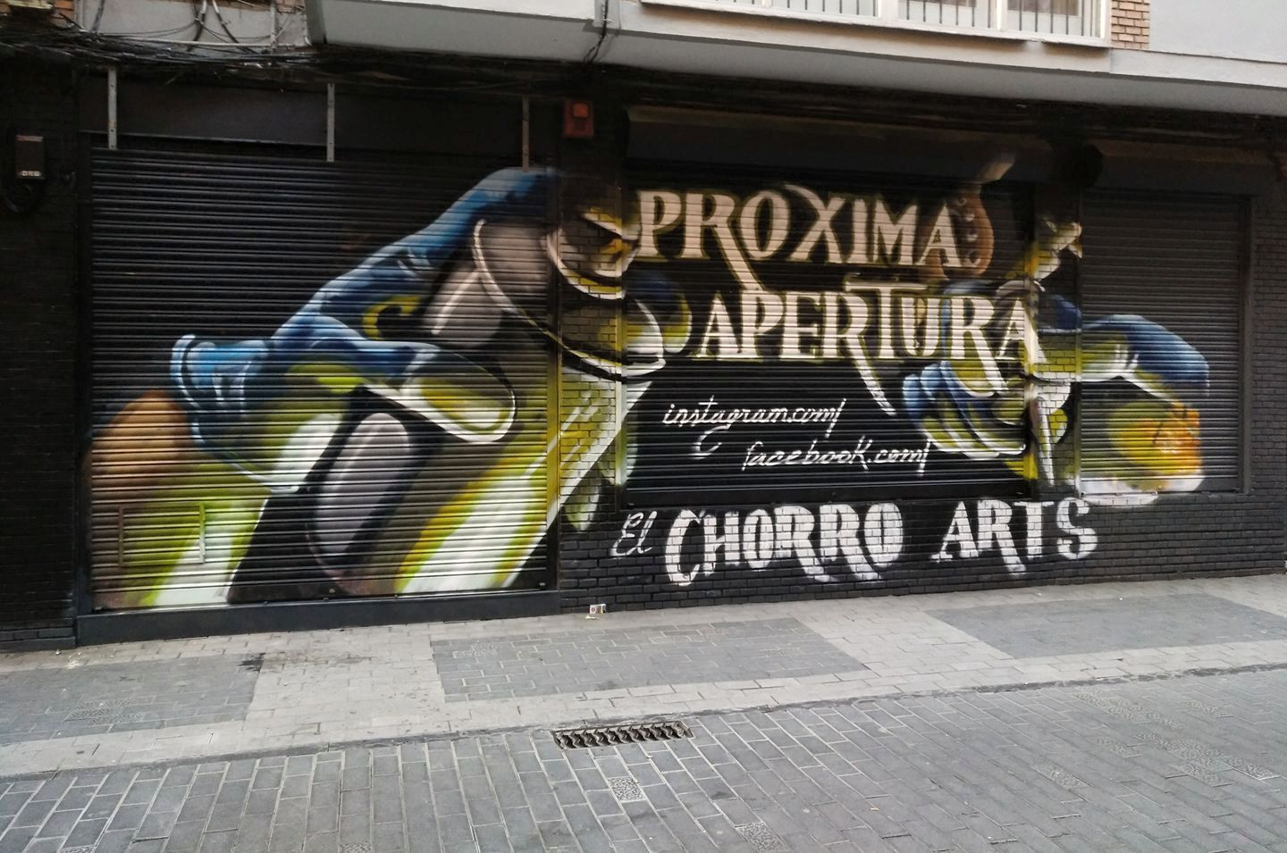 marketing negocios mural graffiti palencia