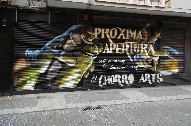 marketing negocios mural graffiti palencia