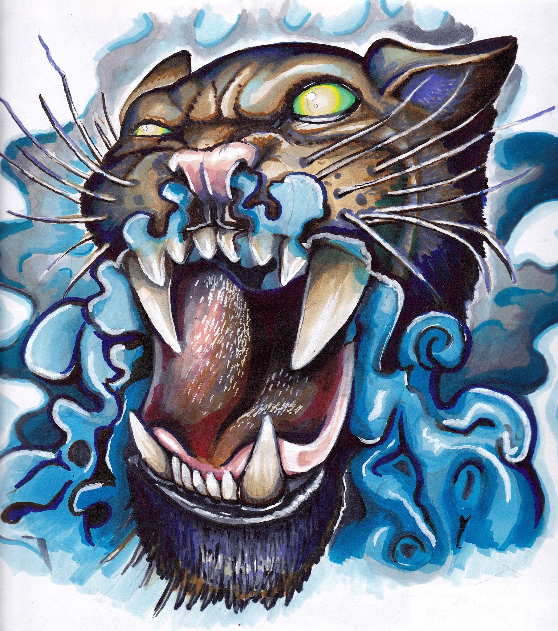 tigre tattoo palencia tatuadores