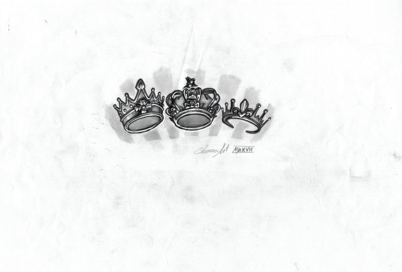 coronas chicas tattoo palencia