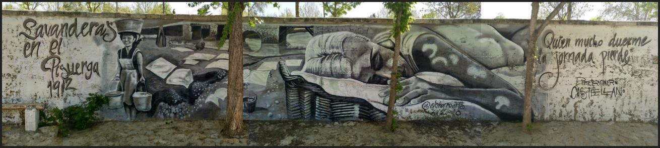 arte mural graffiti valladolid muralismo palencia graffiti