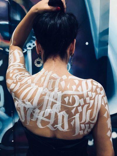 mr zé caligraffiti palencia infame en piel