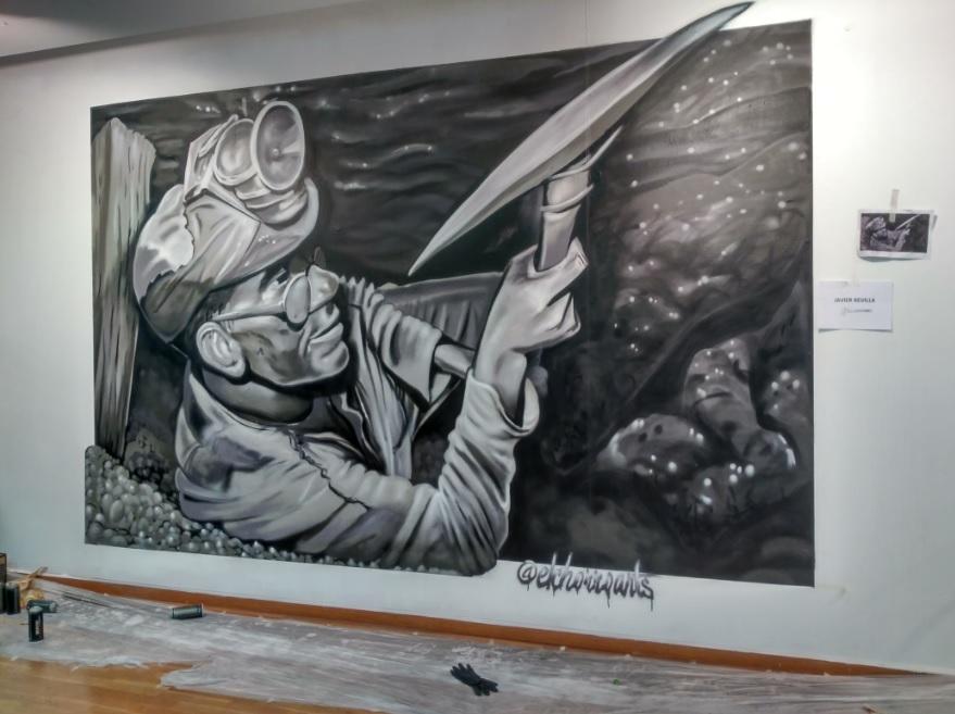 minero sabero GRAFFITI EXPOSICION MURALES