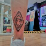dagger paint palencia tatuaje tattoo san antolin infame
