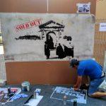 gustavo krustaf stencil palencia infame san antolin arte urbano exposición bares con arte