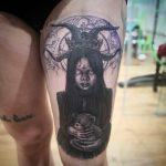 isamar ink tatuaje tattoo palencia san antolin infame