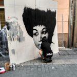 dicka palencia infame san antolin arte urbano exposición bares con arte