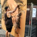 Es3r eser palencia leon san antolin infame urbano exposición bares con arte