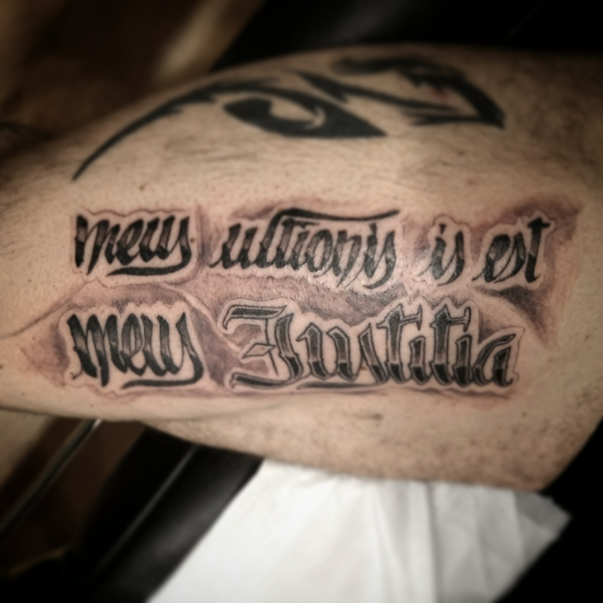 letras tatuaje lettering tatuajes palencia