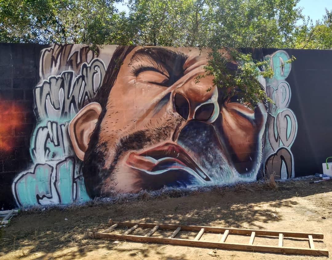 ARTE MURAL GRAFFITI PALENCIA VALLADOLID