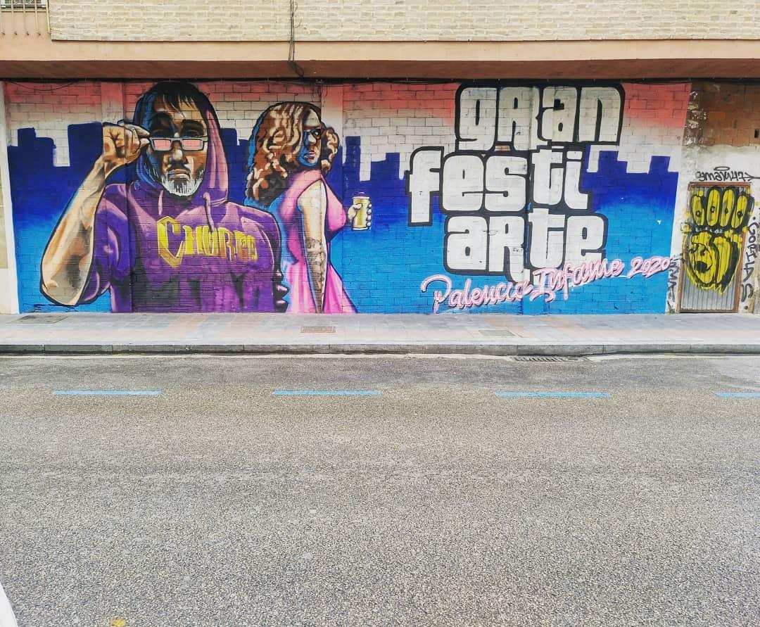 graffiti palencia valladolid gta