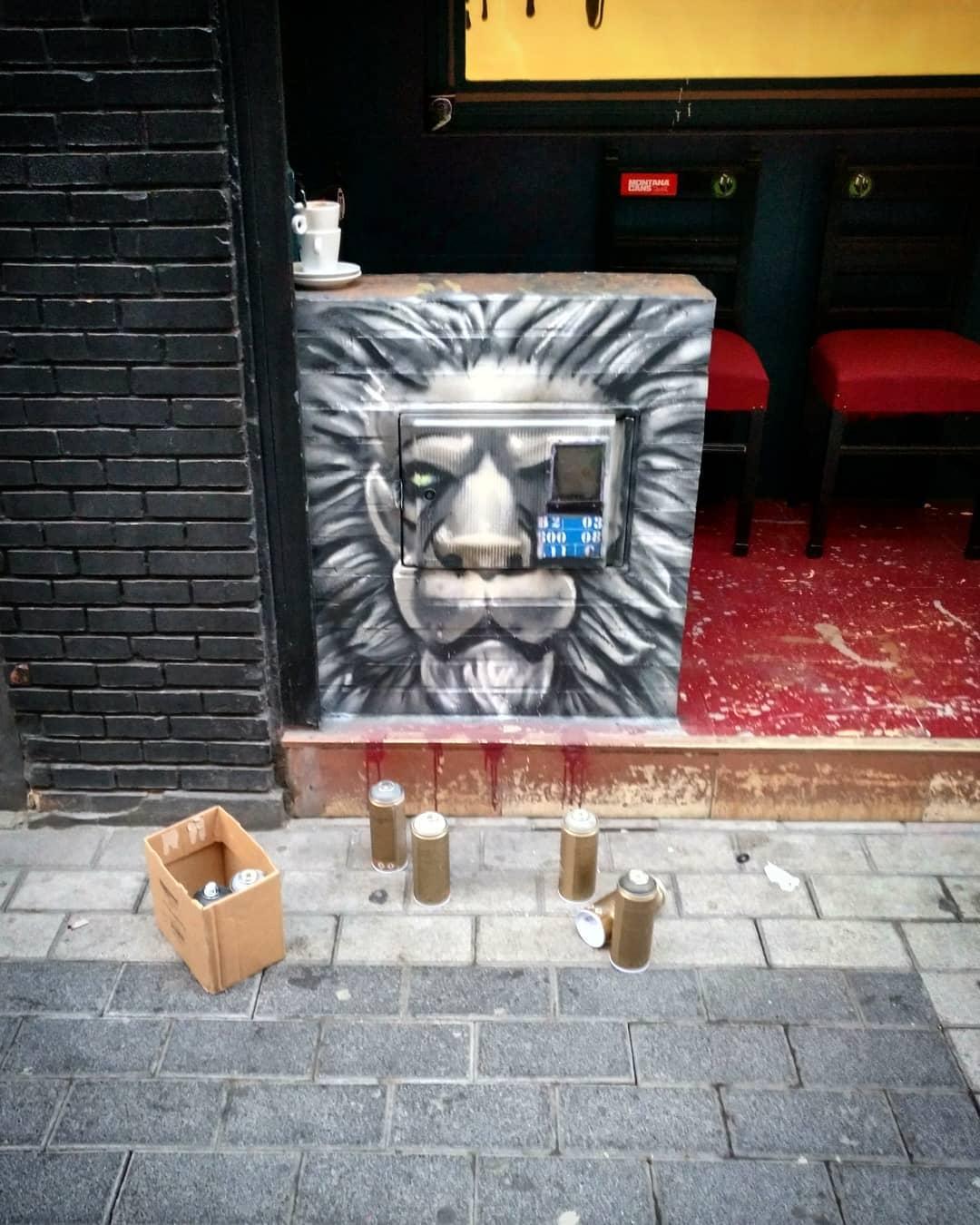 leon graffiti palencia valladolid