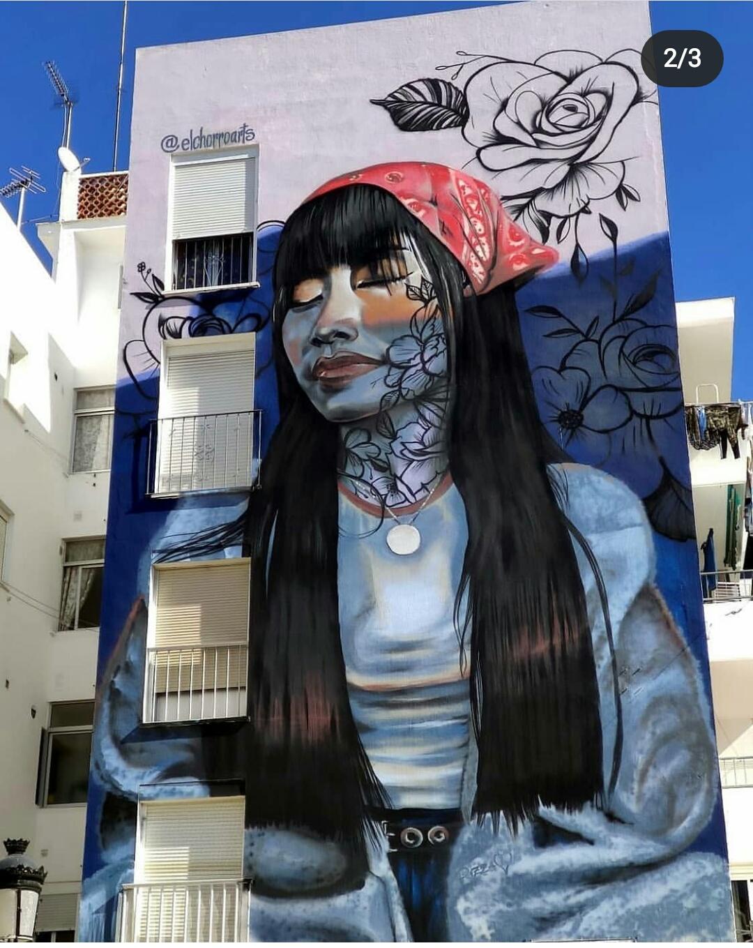 ruta murales estepona palencia el chorro arts